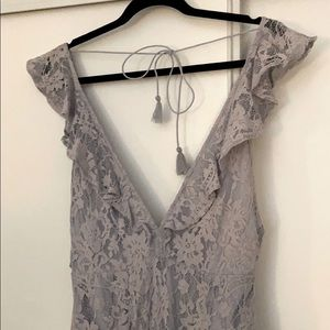 REDUCED! NEW NastyGal Lace Lilac PROM Dress, Small